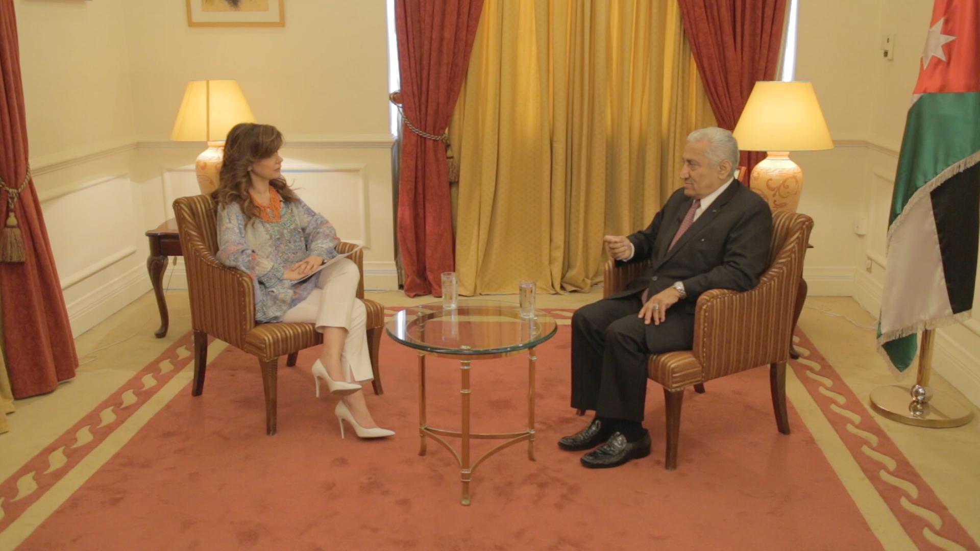 ΠΡΟΣΩΠΙΚΑ Η Έλενα Κατρίτση με τον Αμπντάλα Ενσούρ%2cτ. Πρωθυπουργό Ιορδανίας