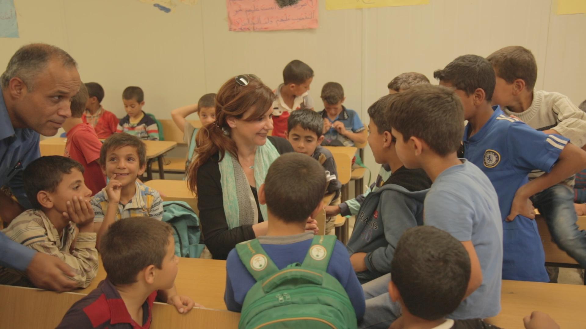 ΠΡΟΣΩΠΙΚΑ Ιορδανία προσφυγικός καταυλισμός Αλ Ζαάταρι (1)