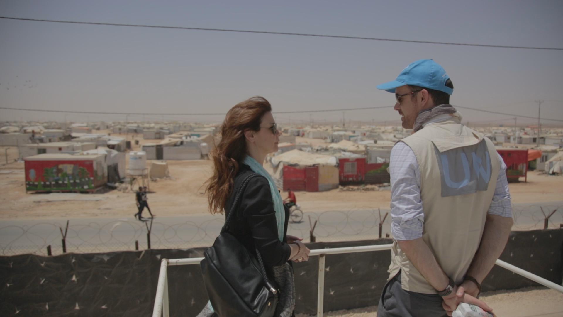 ΠΡΟΣΩΠΙΚΑ Ιορδανία προσφυγικός καταυλισμός Αλ Ζαάταρι (2)