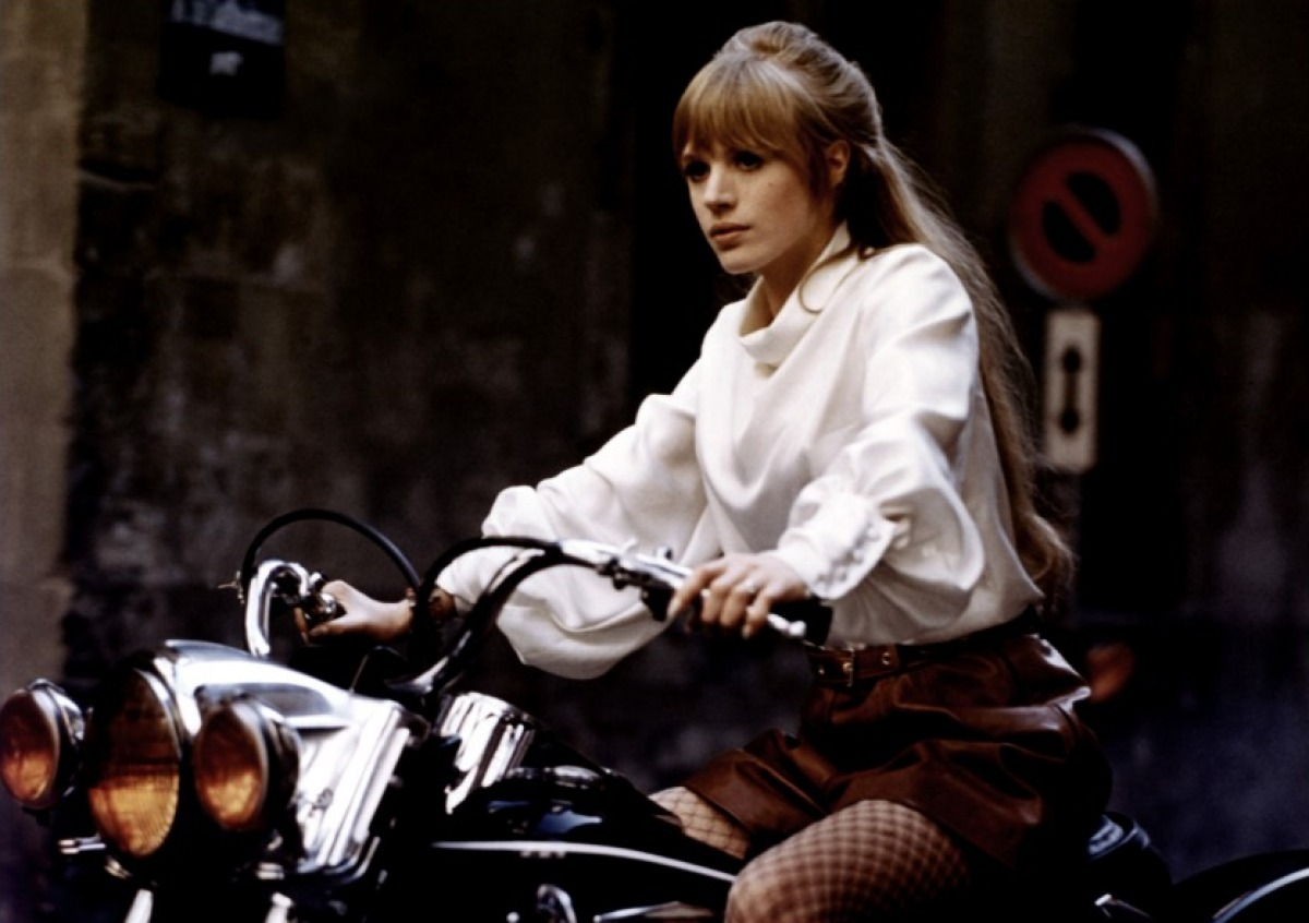 The Girl on a Motorcycle (2)