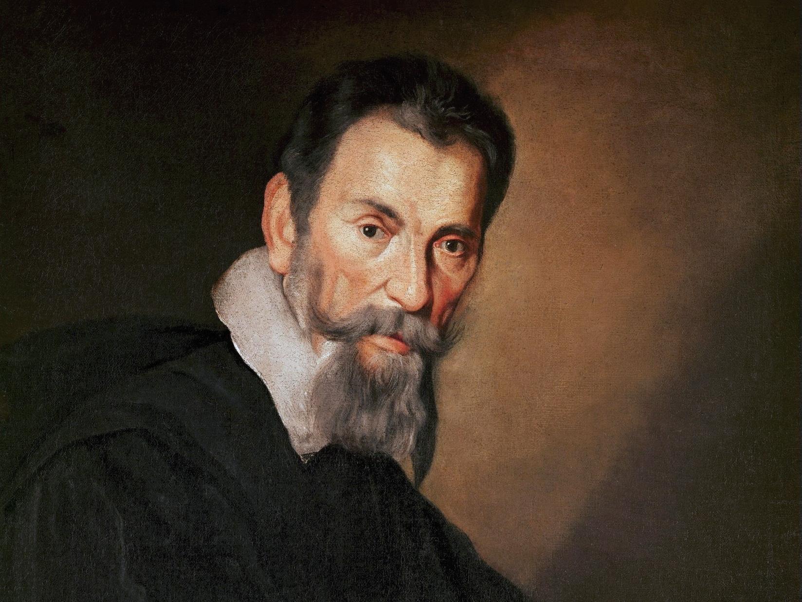 Ο Ιταλός συνθέτης Κλάουντιο Μοντεβέρντι (Κρεμόνα, 15 Μαΐου 1567 - Βενετία, 29 Νοεμβρίου 1643)