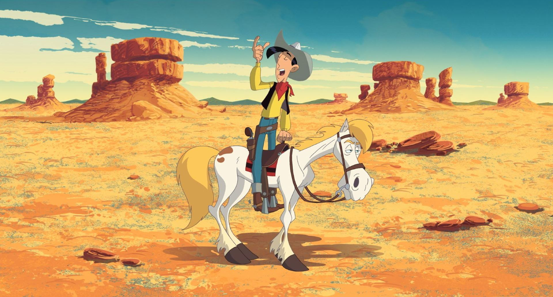 Go West A Lucky Luke Adventure Tous a l' Ouest Une aventure de Lucky Luke (9)