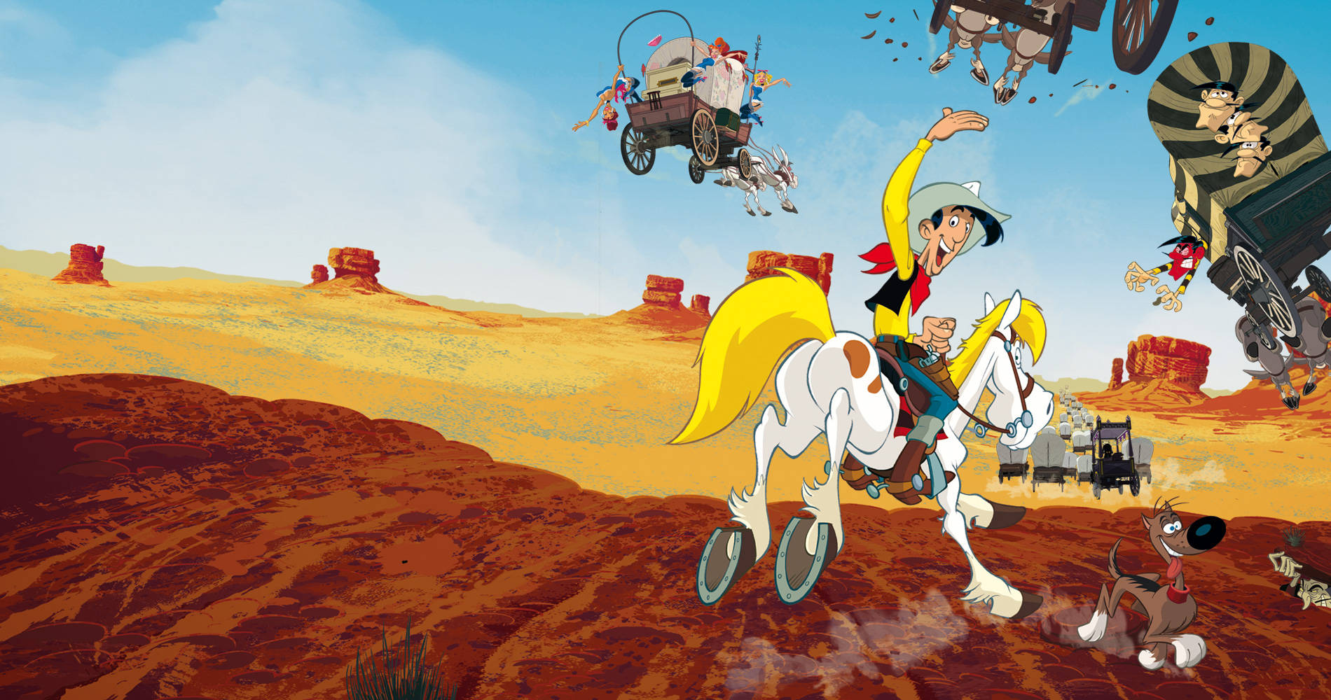 Go West A Lucky Luke Adventure Tous a l' Ouest Une aventure de Lucky Luke