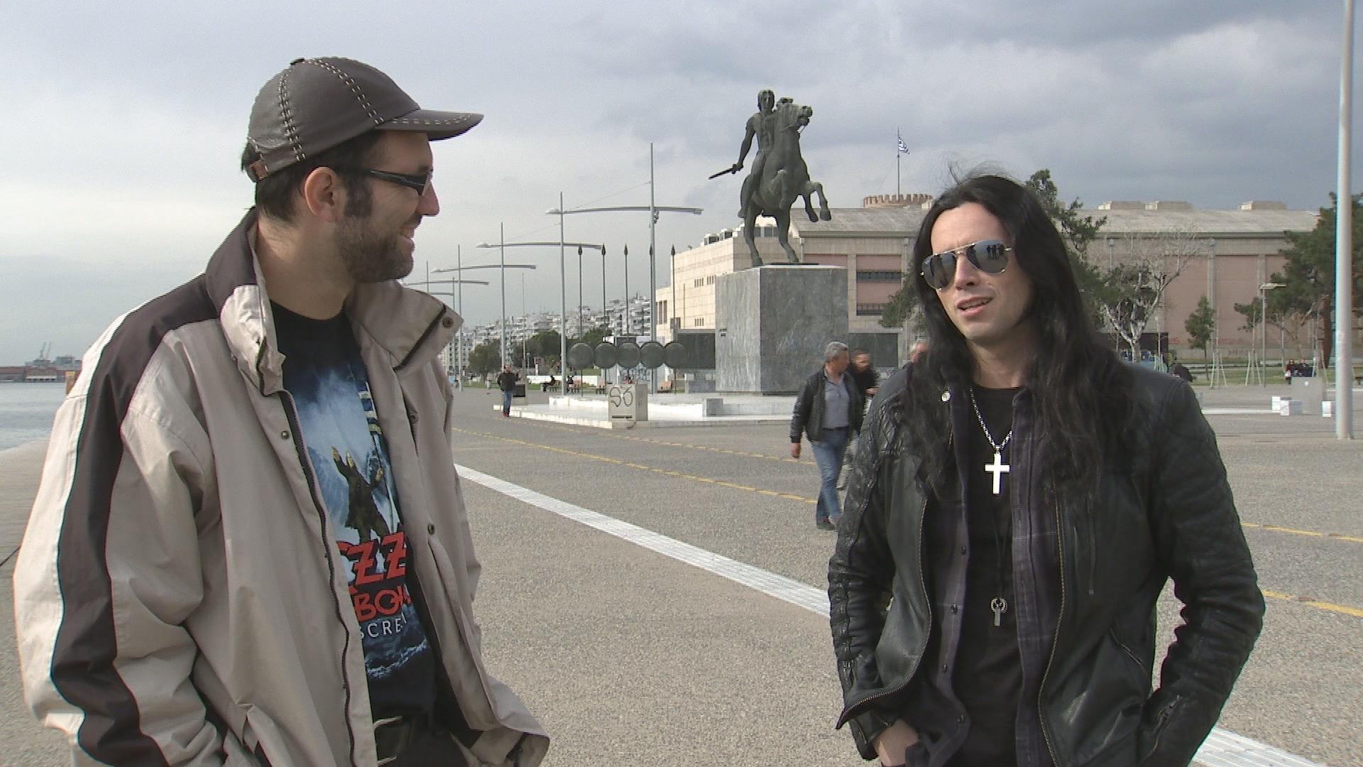 Θανάσης Τσαουσόπουλος και Gus G.