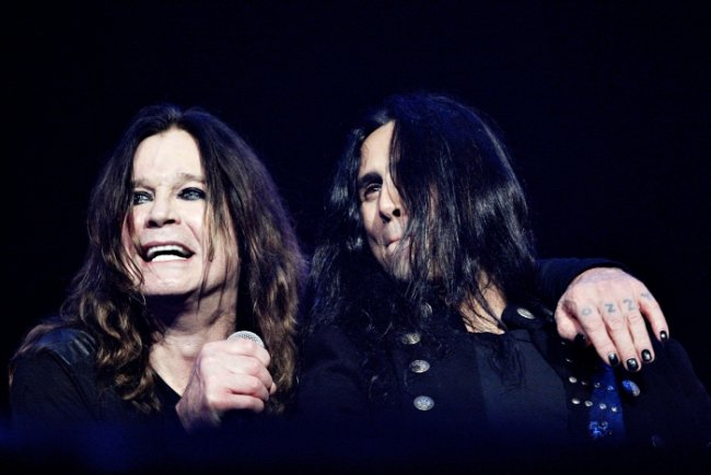 Ozzy Osbourne και Gus G.