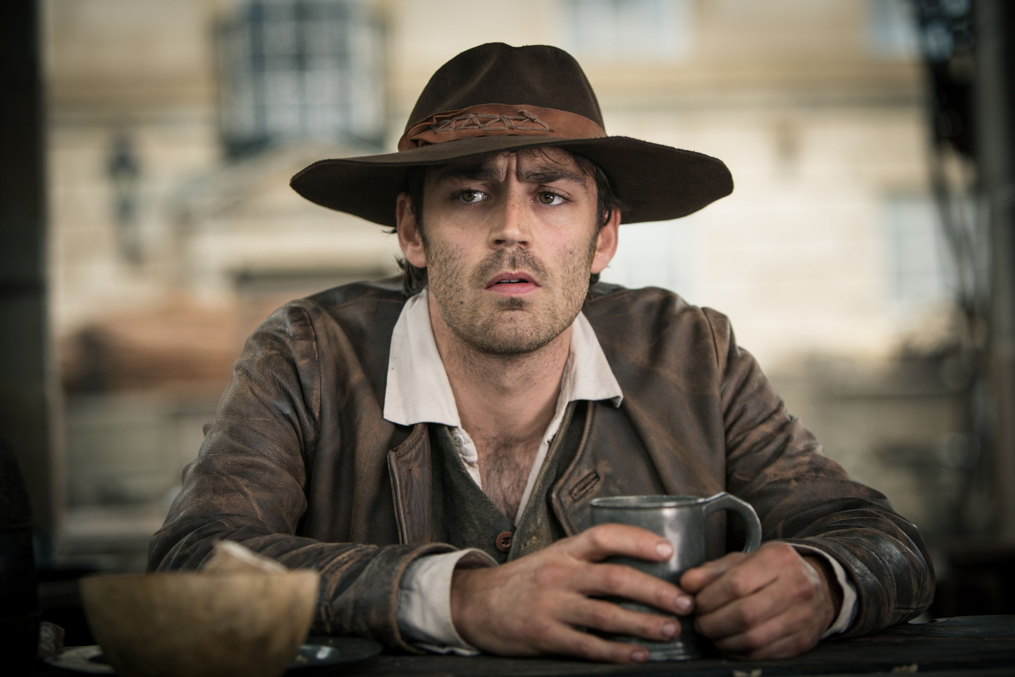WARNING: Embargoed for publication until: 15/04/2014 - Programme Name: Jamaica Inn - TX: n/a - Episode: n/a (No. 2) - Picture Shows: Jem Merlyn (MATTHEW MCNULTY) - (C) Origin Pictures - Photographer: Robert Viglasky