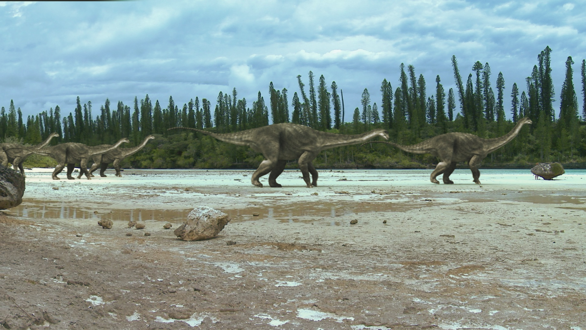 «Dinosaurs in the Outback» (2)