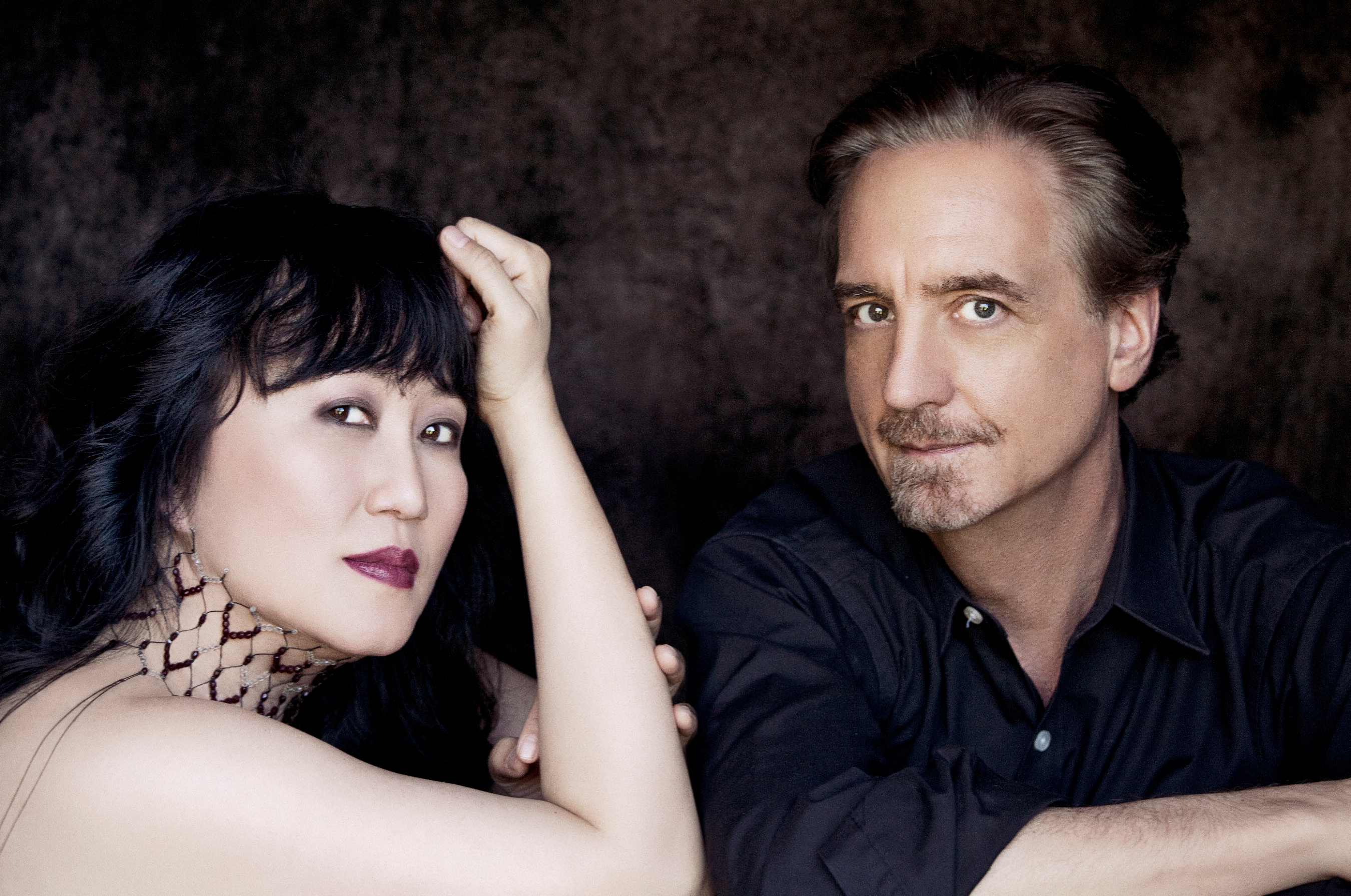 Wu Han and David Finckel by Lisa Marie Mazzucco