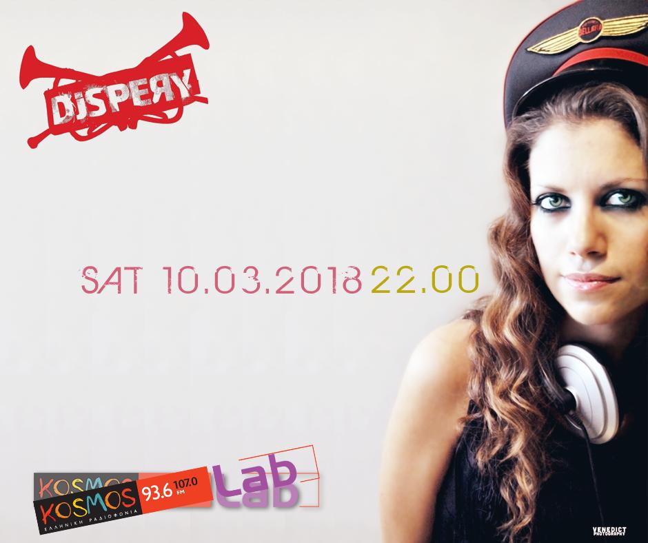 DJ Spery Kosmos Lab 10-3-18