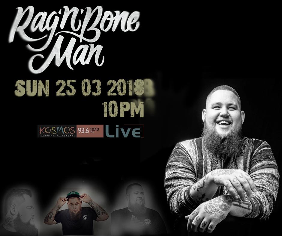 Rag n Bone Man Kosmos Live 25-3-18