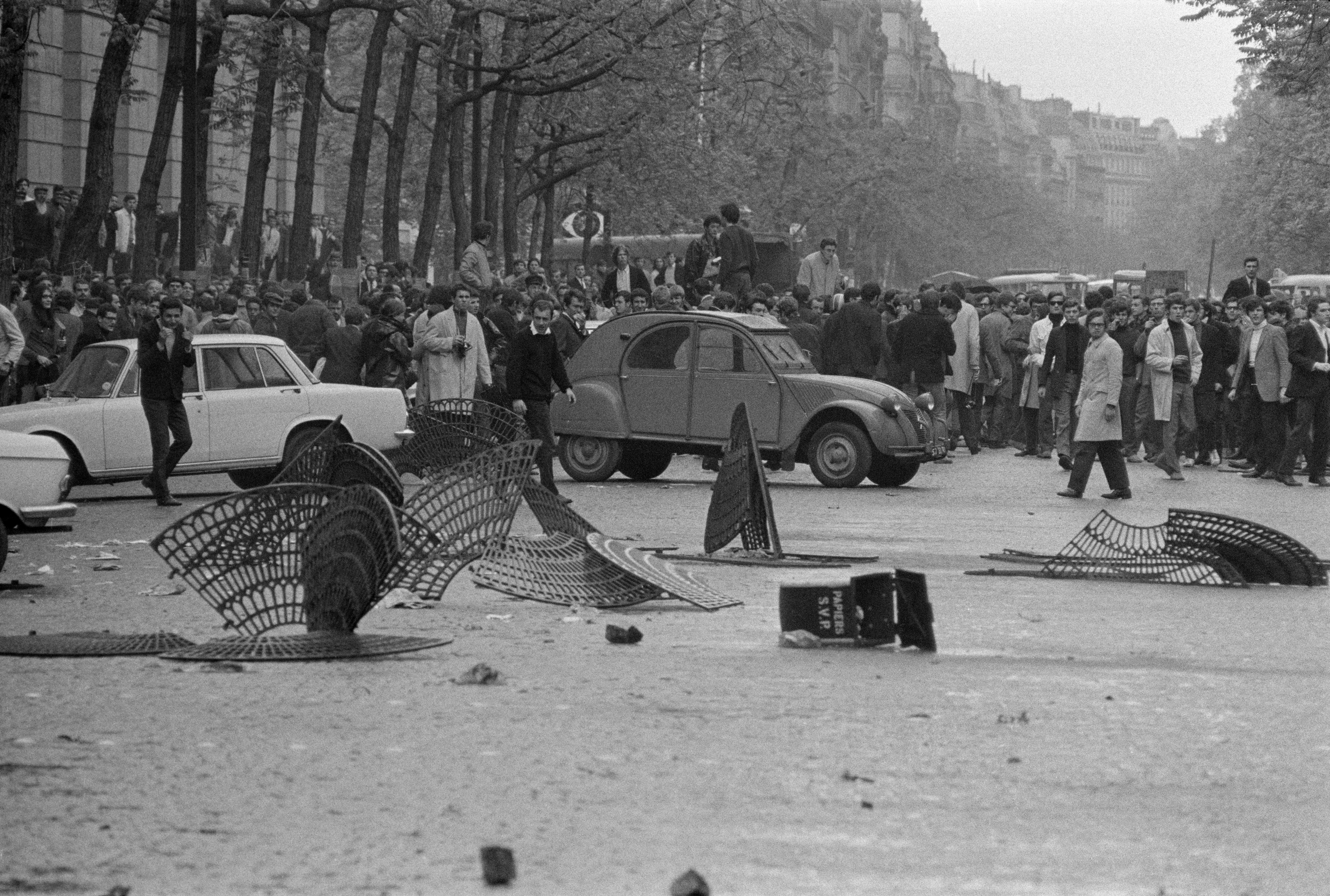 FRANCE. Paris. May '68 events.