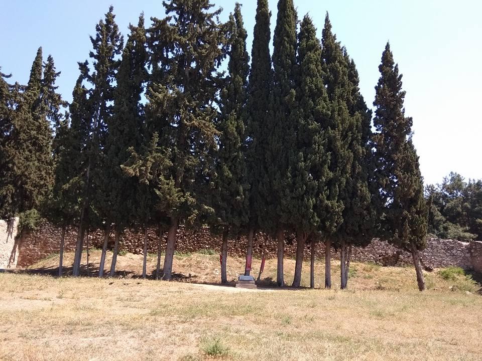 O τόπος εκτέλεσης των 200 κρατουμένων του στρατοπέδου Χαϊδαρίου.