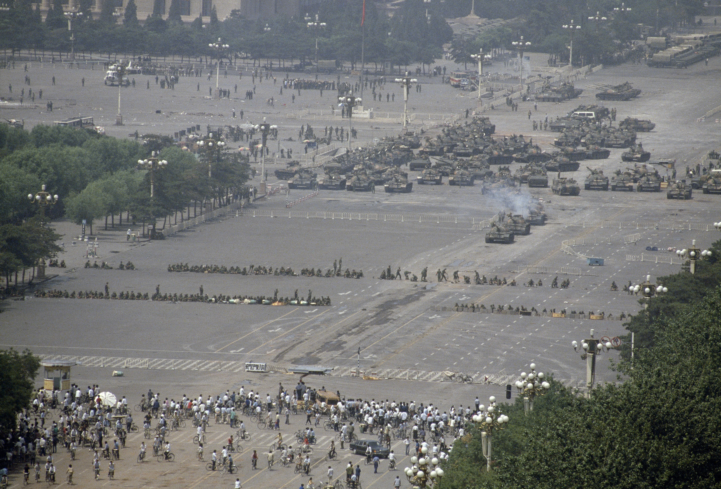 CHINA. Beijing. Tiananmen Square protests. 1989.