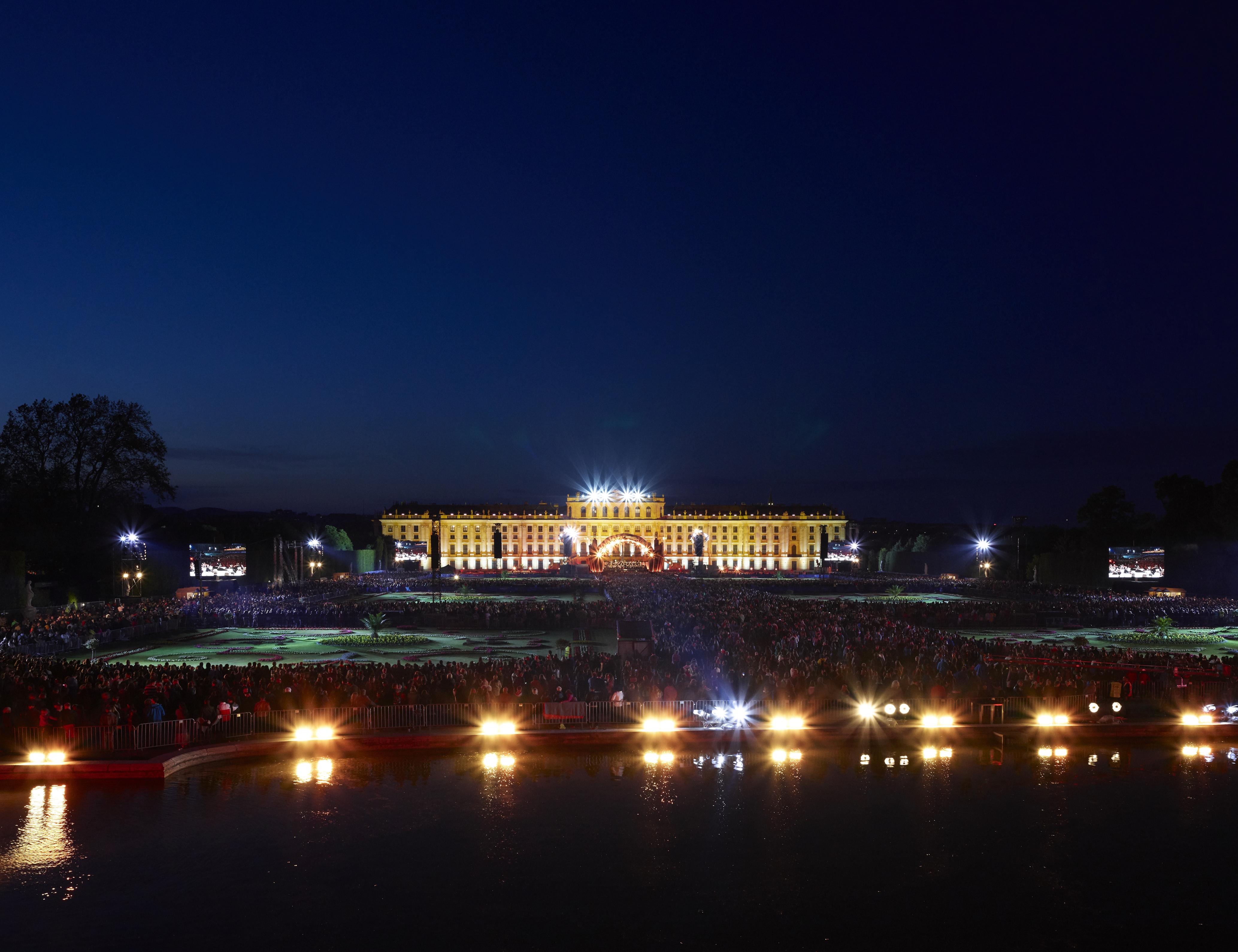 Sommernachtskonzert 2017 Wiener Philharmoniker Schloß Schönbrunn
