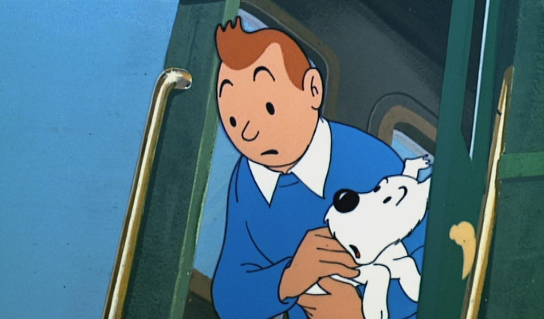 Tintin - Le Temple du Soleil (1)
