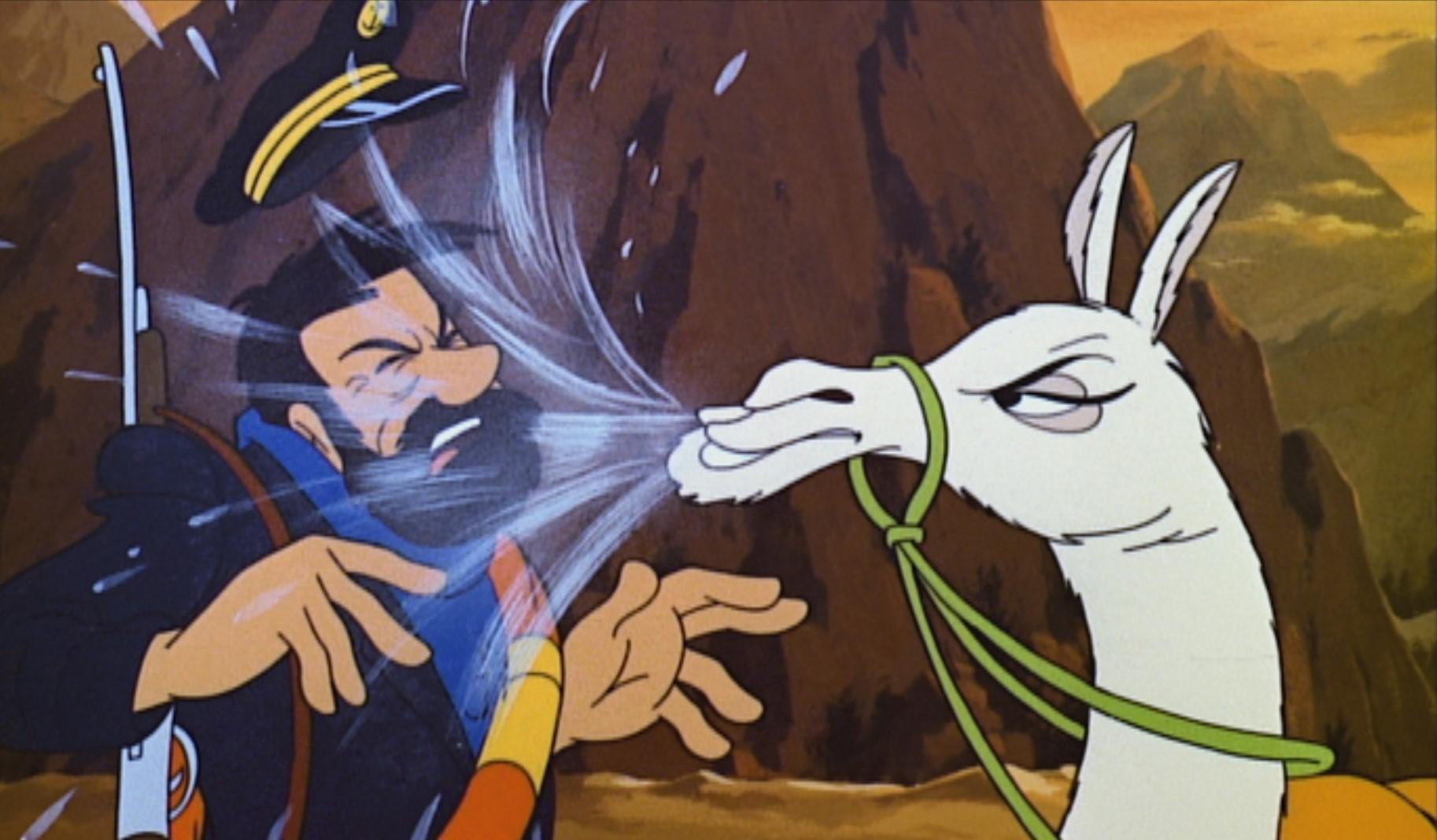 Tintin - Le Temple du Soleil (2)