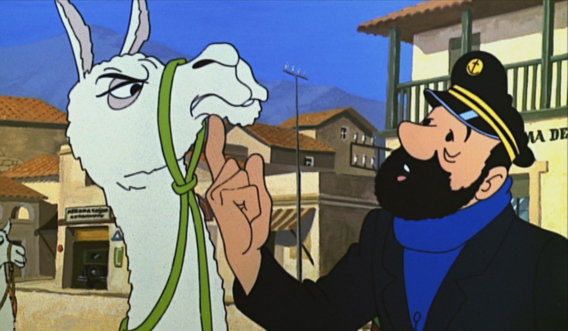 Tintin - Le Temple du Soleil (4)