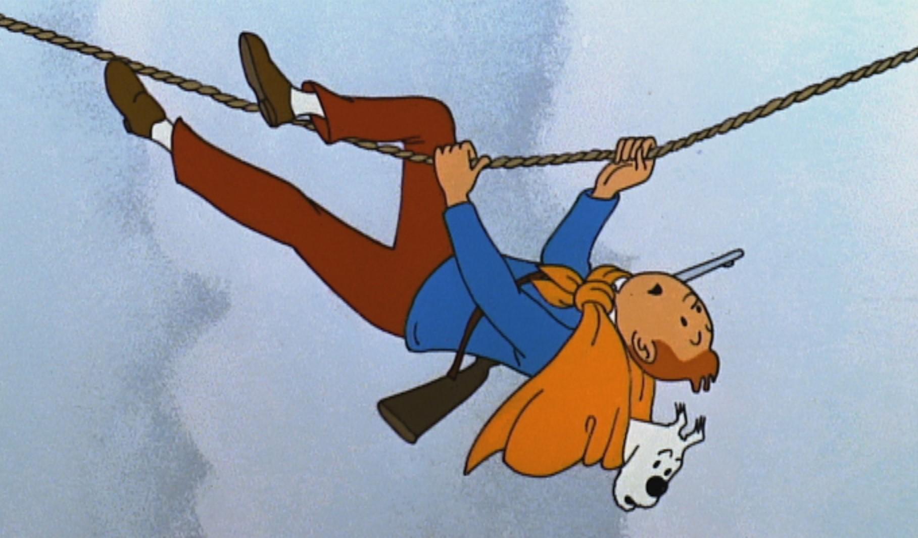 Tintin - Le Temple du Soleil (5)