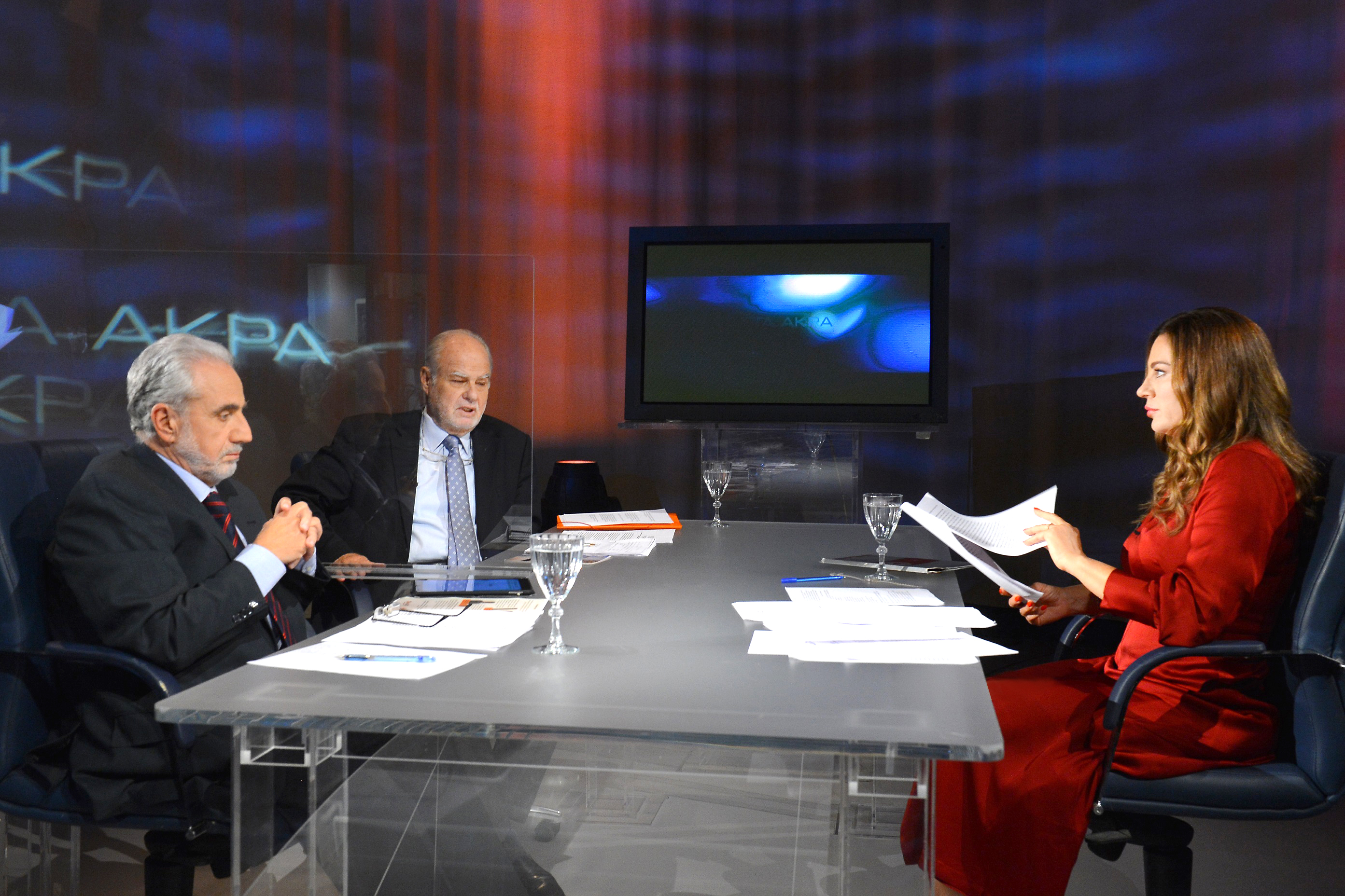 ΕΡΤ2 - Οι πρώην πρυτάνεις Χρήστος Κίττας και Σταύρος Κουμπιάς «Στα Άκρα» με  τη Βίκυ Φλέσσα 11 & 18.11.2020 - Γραφείο Τύπου ΕΡΤ